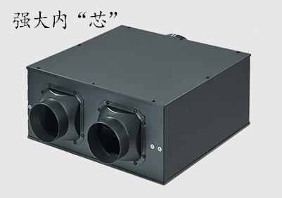 超薄静音式管道送风机(一拖二)